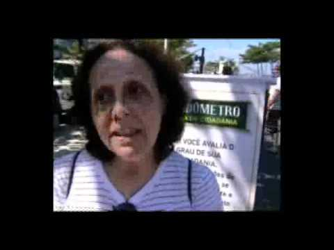O Cidadômetro vai às ruas 01/05/2011