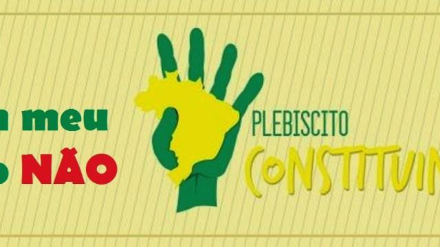 """Eventos<p> Ato """"Plebiscito Constituinte: tem que ser oficial!"""" – Dia 4 de fevereiro – quarta-feira que vem"""