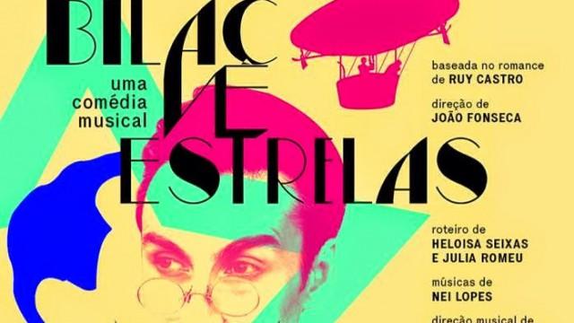 """Teatro<P>Peça """"Bilac vê estrelas"""" fica em cartaz no Sesc Ginástico até o dia 31 de janeiro"""