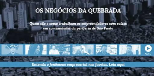 Imprensa <p>Reportagem especial do Diário do Comércio de São Paulo mostra o índice de empreendedorismo nas regiões paulistanas mais carentes