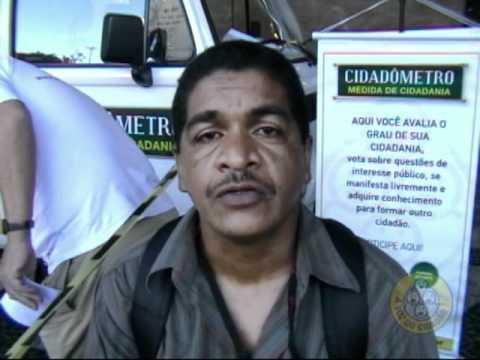 O Cidadômetro volta às ruas – Central do Brasil – 24 e 25/11/2011 – Parte 2.1