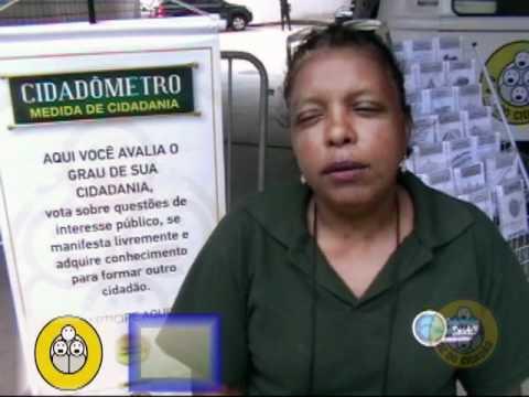 O Cidadômetro volta às ruas – Maracanãzinho 24 e 25/10/2011 – Parte 1