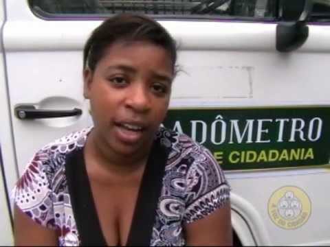 O Cidadômetro volta às ruas – Metrô Avenida Chile 08 e 09/12/2011 – Parte 2.2