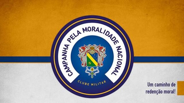 Campanhas – <p>Campanha pela Moralidade Nacional, do Clube Militar, terá destaque nos eventos do Dia do Soldado
