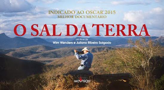 Filme ; Documentário <p>O sal da terra – com direção de Wim Wenders
