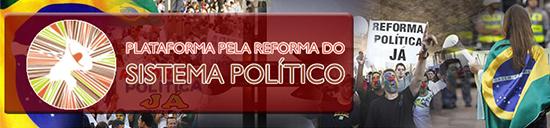 Debate Público –<p>Plataforma dos Movimentos Sociais pela Reforma do Sistema Político vai realizar reunião/encontro nos dias 27 e 28 de agosto em São Paulo