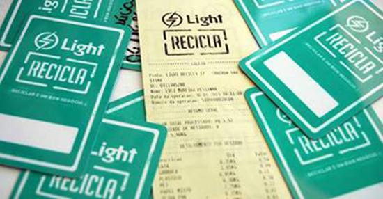 Cidadania Corporativa – <p>Projeto Light Recicla conquista mais dois prêmios