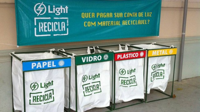Meio Ambiente – <p>Light amplia participação da sociedade no programa Light Recicla de coleta de materiais recicláveis