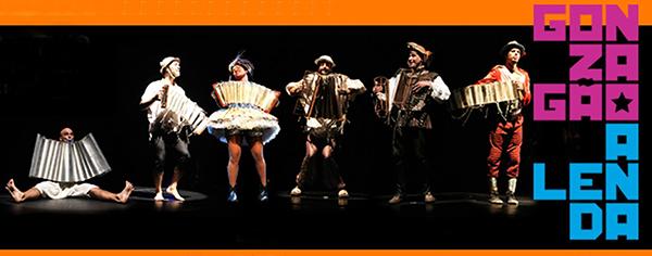 """Teatro / Dança – <p>""""Gonzagão – A Lenda"""" em temporada popular no Teatro João Caetano, no Rio de Janeiro"""