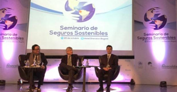Meio Ambiente / Ciência – <p>Seminário de Sustentabilidade em Seguros reúne 150 em Bogotá