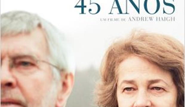 """Filme / Documentário – <p>""""45 anos"""", com Charlotte Rampling em atuação excepcional"""