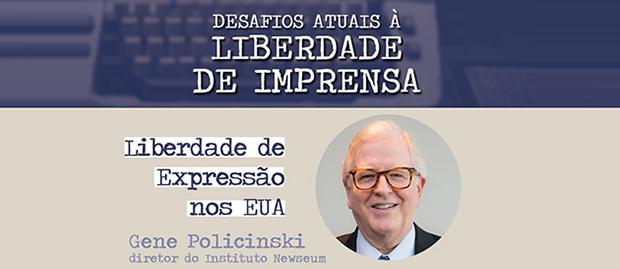 Eventos – <p>Instituto Palavra Aberta e Cásper Libero debatem no dia 9 de outubro os desafios atuais da liberdade de imprensa