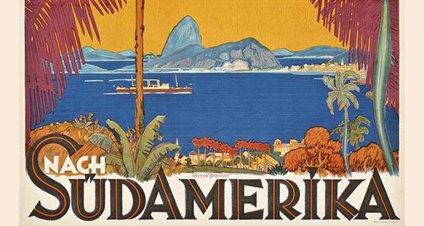 Artes / Exposição – <p>Museu Histórico Nacional, no Rio, abre mostra de cartazes turísticos da cidade dos anos 40