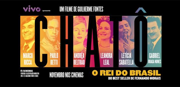 """Filme / Documentário – <p>Finalmente estreia o polêmico """"Chatô, o rei do Brasil"""" nos cinemas"""