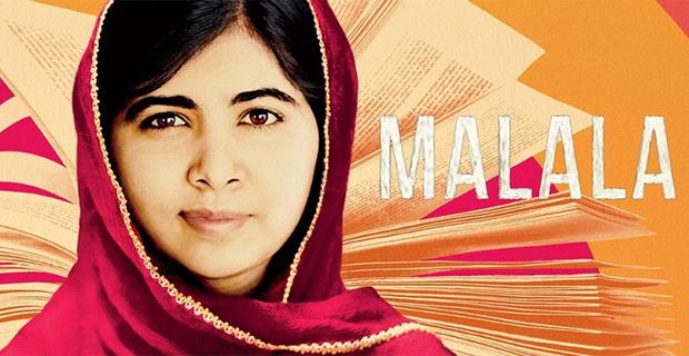 """Filme / Documentário –<p>""""Malala"""" – uma tocante história da menina baleada pelo Talibã, sobreviveu e ganhou o Nobel da Paz"""