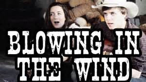 <p>Música – Blowing in the wind, de Bob Dylan<p>