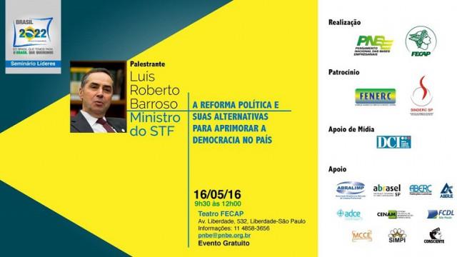 <p>Evento PNBE – Seminário de Reforma Política <p>