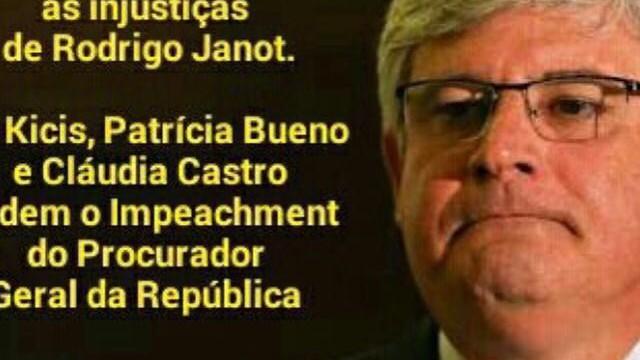 <p>Exemplaridade – Advogadas de Brasília pedem impeachment do PGR<p>