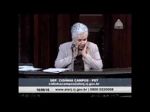 <p>Instituições de estado – pronunciamento da deputada Cidinha Campos<p>
