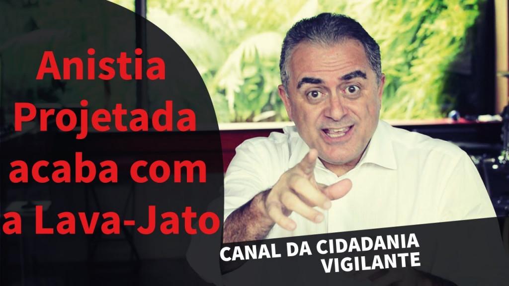 Agente de cidadania - o jurista Luiz Flávio Gomes alerta para a vergonhosa anistia proposta pela canalha política de Bastília