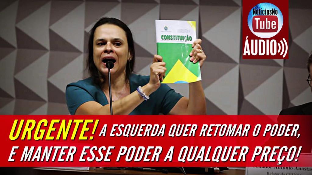 """Agentes de Cidadania – Janaína Paschoal em declaração contundente explica por que """"Diretas já"""" é aposta irresponsável na barbárie política"""