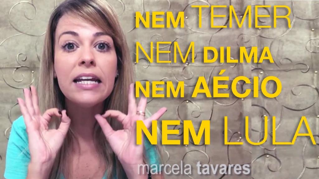 Agentes de Cidadania – Marcela Tavares, youtuber com mais de 500 mil seguidores, agora participando da política