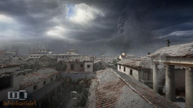 Exposição – Espetacular animação da destruição de Pompéia no Melbourne Museum