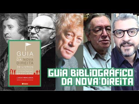 Livros - Guia bibliográfico da nova direita, de Lucas Berlanza. Para entender a adesão crescente dos jovens ao pensamento liberal e conservador