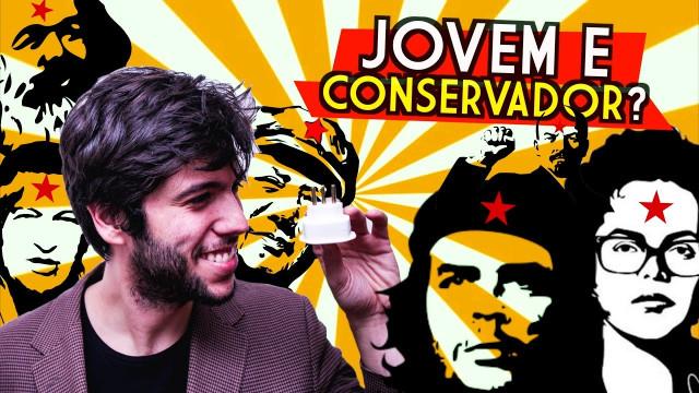 Redes Sociais – Jovem conservador Caio Coppolla faz sucesso nas redes sociais defendendo os conservadores