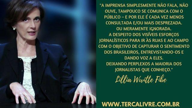 """<p>Debate público – A imprensa e a """"bolha"""" do Paulo Guedes, polêmica lançada pelo canal Terça Livre de Allan dos Santos<p>"""
