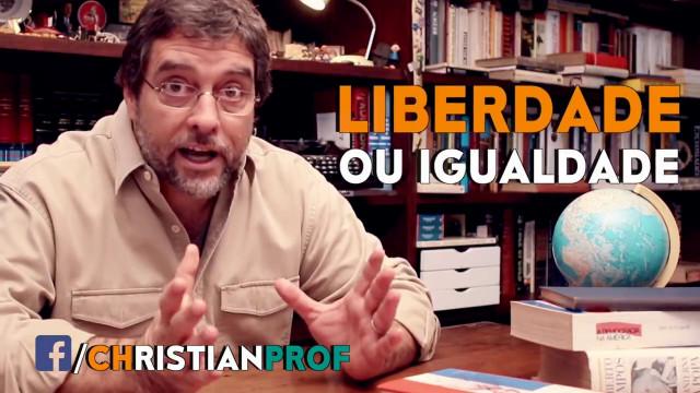 <p>Filosofia política – Novo vídeo do prof. Christian Lobauer explicando direita x esquerda<p>