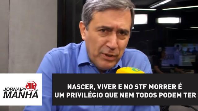 <p>Imprensa – Marco Antonio Villa destroça com o nosso Supremo Jeitinho, que alguns também chamam de Supremo de Franco<p>
