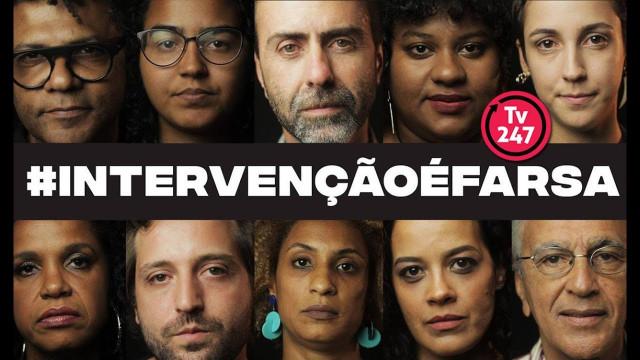 <p>Intervenção no Rio de Janeiro – site de artistas 342 aproveita a crise da segurança para argumentar que a intervenção é farsa!<p>