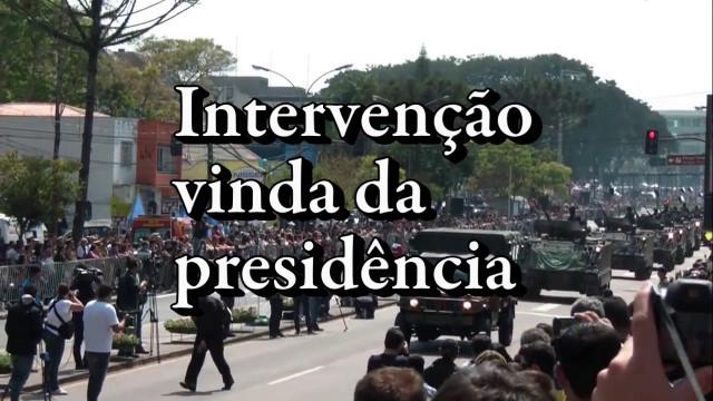 <p>Movimentos sociais – Vejam o impressionante vídeo sobre o Movimento Intervencionista Constitucional<p>