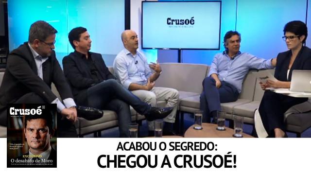 <p>Nova imprensa – Lançada pelo grupo Antagonista a revista digital Crusoé nas redes sociais<p>