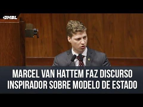 <p>Política – Marcel Van Hattem faz inspirador discurso sobre o modelo de Estado de que o Brasil precisa<p>