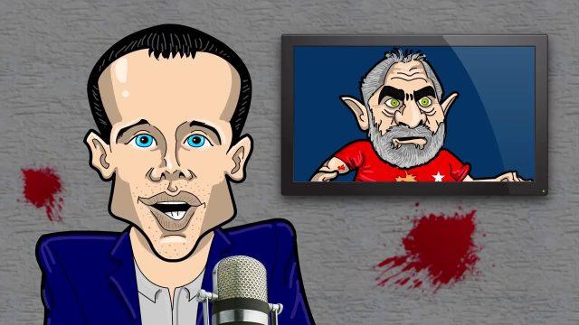 """<p>Humor – Hilariante a paródia que André Guedes faz do programa """"O pingo nos is"""" da Jovem Pan<p>"""