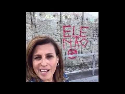 <p>Eleições 2018 – extremismo esquerdista brasileiro chega ao muro de Berlin, denuncia a guia de turismo Cássia Freire<p>