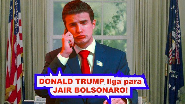 <p>Humor – Uma das melhores imitações de Bolsonaro e Donald Trump, por André Marinho. Impagável!<p>
