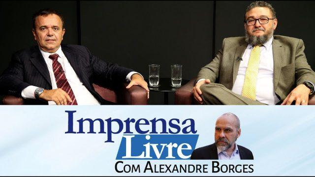 <p>Imprensa livre – Alexandre Borges entrevista Bene Barbosa e Marcelo Rocha Monteiro sobre os programas de segurança pública dos candidatos<p>