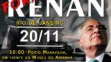 """<p>Política – """"Fora, Renan!"""", a agenda mais importante da política brasileira! Pressione seu senador!<p>"""