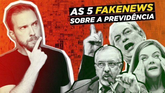 <p>Previdência – As cinco maiores fake news sobre a reforma da previdência, por Vinicius Poit<p>