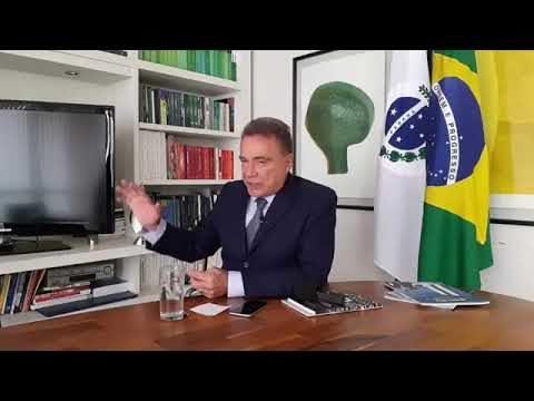 <p>Redes sociais – Alerta do senador Álvaro Dias às redes sociais sobre o PL do fim do foro privilegiado<p>