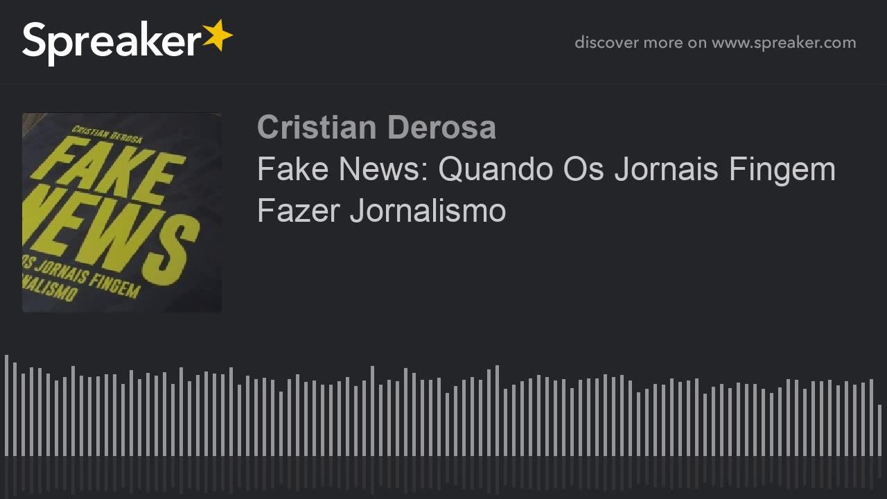 <p>Livros &#8211; Fake News: Quando os jornais fingem fazer jornalismo, de Cristian Derosa<p>