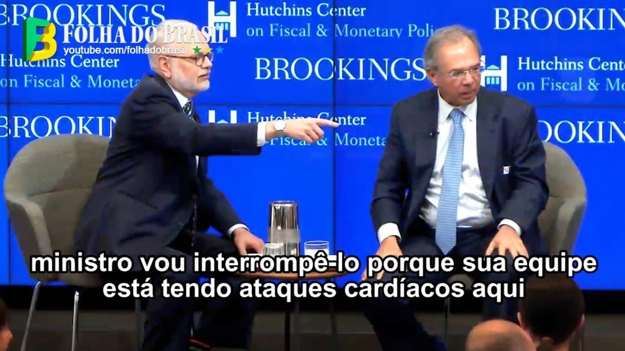 <p>Economia política &#8211; Entrevista de Paulo Guedes em Washington deixa claro o dilema brasileiro e sua esperança<p>