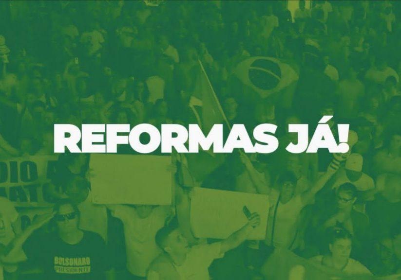 Manifestações – Vejam quem vai no dia 26/5 pela agenda de reformas que elegeu o governo e o parlamento