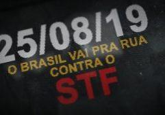 Movimentos sociais – convocação para grandes manifestações no próximo dia 25/08 contra o STF