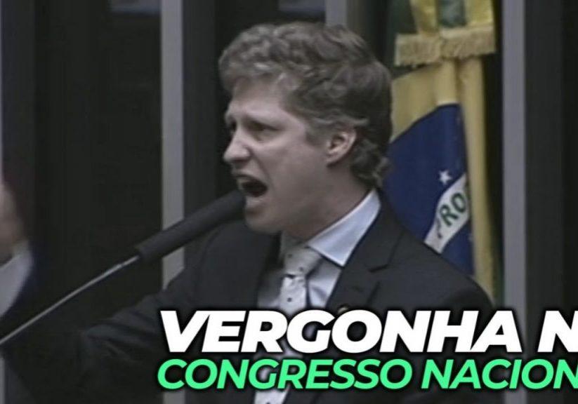 Regresso Nacional – Corajosa denúncia de um dos mais combativos parlamentares contra as manobras barroquistas da mesa diretora